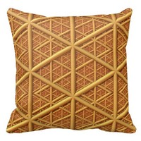 Endless Triangles - 20 x 20 inch Polyester Throw Pillow @ Zazzle.com
