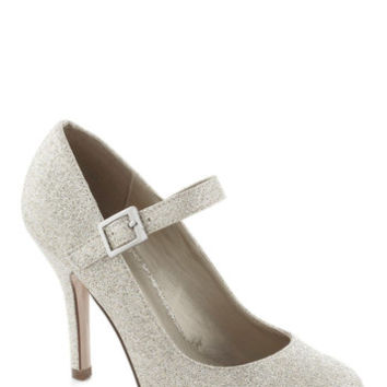 Yes I Candescent Heel in Silver