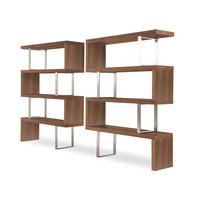 Symmetry 3-Tiered Bookshelf