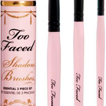 Too Faced Shadow Brushes Essential 3 Piece Set Ulta.com