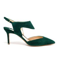 NICHOLAS KIRKWOOD | Suede Sling Back Pumps | Browns fashion & designer clothes & clothing