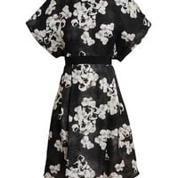 GIAMBATTISTA VALLI | Floral Printed Silk Dress | Browns fashion & designer clothes & clothing