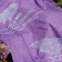 Bird Branch Organic Cotton Tee: Soul Flower Clothing