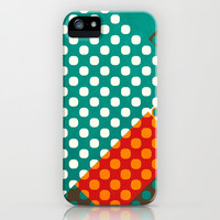 Dots iPhone & iPod Case by SensualPatterns