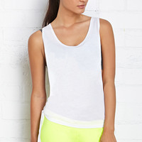 Knotted Workout Tank
