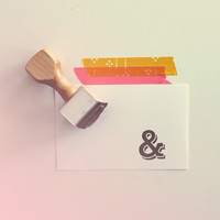 Ampersand | Rubber Stamp