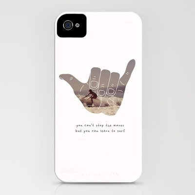 good vibrations iPhone Case by Basilique | Society6