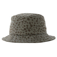 The Quiet Life Dalmation Bucket Hat - Khaki/green at Urban Industry