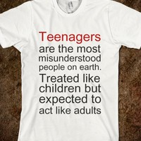 Teenagers: The Most Misunderstood People On Earth