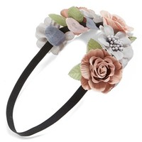 BP. Floral Crown Headband (Juniors) | Nordstrom