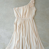 Ruffled Sands Dress [5385] - $45.00 : Vintage Inspired Clothing & Affordable Dresses, deloom | Modern. Vintage. Crafted.