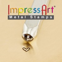 ImpressArt- 3mm, Whimsy Heart Design Stamp