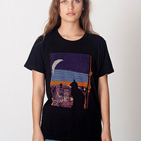 Unisex Manhattan Cat Power Wash Tee