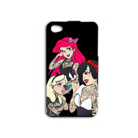 Disney Punk Princess Tattoos iPhone Case Cute iPod Case Funny iPhone Case iPhone 4 iPhone 5 iPhone 5s iPhone 4s iPhone 5c iPod 4 Case iPod 5