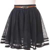 Delicacy Triple Layers Tutu in Black - sale - Retro, Indie and Unique Fashion