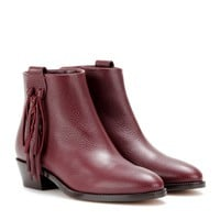 C-Rockee leather ankle boots