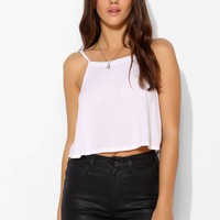 SkarGorn Kiss It Coated Denim Short - Urban Outfitters