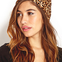 Jungle Queen Knotted Headwrap