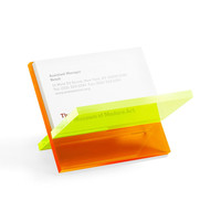 Work of Art Business Card Holder