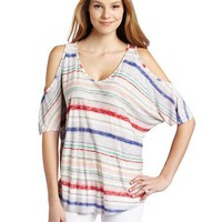 Ella moss Women`s Serape Stripe Top
