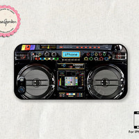Boom Box iPhone 5 Case, iPhone 5s Case, iPhone Case, iPhone Hard Case, iPhone 5 Cover, iPhone 5s Cover