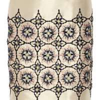 Biyan Nirina embellished shantung skirt – 55% at THE OUTNET.COM