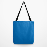 Dazzling Blue Tote Bag by BeautifulHomes | Society6