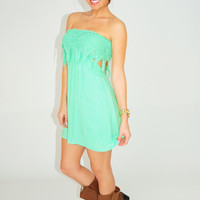 RESTOCK: Make It Feel Right Dress: Seafoam