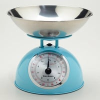 Aqua Vintage-Style Scale - World Market