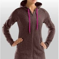 Women's Wintersweet Full Zip Fitted Hoody Tops by Under Armour