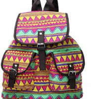 BESTOPE High Quality & Brand New Vintage Retro Floral Ladies Canvas Bag /School Bag/Backpack
