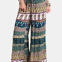 Shout It Out Printed Pants | Threadsence