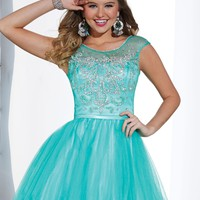 Hannah S 27880 Bateau Beaded Dress
