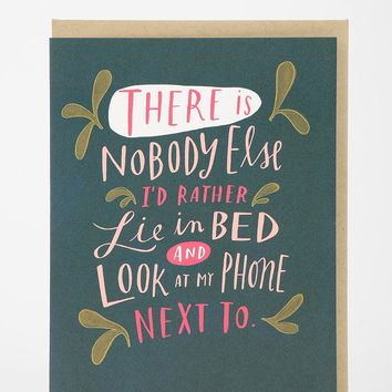 Emily McDowell Only One I Want To Look At Card - Urban Outfitters