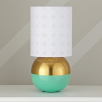 Dotted Glow Table Shade & Half Karat Base