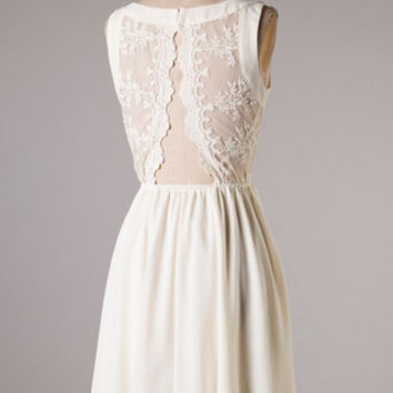 Alluring Dress - Ivory - Hazel & Olive