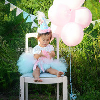 Sweet Little Boutique Birthday Hat  - In Cotton Candy