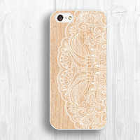 Vivid floral pattern IPhone 5S case,wooden printing IPhone 5 case,IPhone 5c cases, skin cases for iphone 4 4s cases d090-2