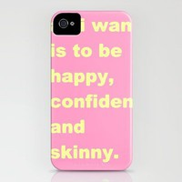 skinny iPhone Case by Romi Vega | Society6