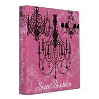 Pink Sweet Sixteen, Wedding Photo Binder