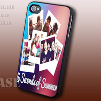 5 SOS Hemmings Boys Band - For iPhone 4/4s,5,5c,5s and Samsung Galaxy S2,S3,S4 Case.
