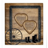 Country Western Wagon Wheel, Hearts Wedding Album