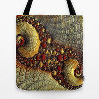 Golden Delight  Tote Bag by OCDesigns_PwinArt