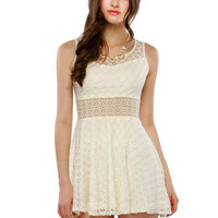 Papaya Clothing Online :: LACY FLARE DRESS
