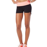 LLD Ruched Knit Shorts