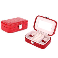 Jewelry Gift Box Case Organizer Jewelry Storage Box Display Bracelet Earring