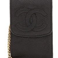 Chanel Caviar Key Ring Pouch