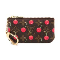 Louis Vuitton Murakami Cherry Coin Purse