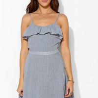 Lucca Couture Ruffle-Top Fit + Flare Dress - Urban Outfitters