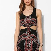 Gentle Fawn Cutout-Waist Geo-Print Tank Dress - Urban Outfitters